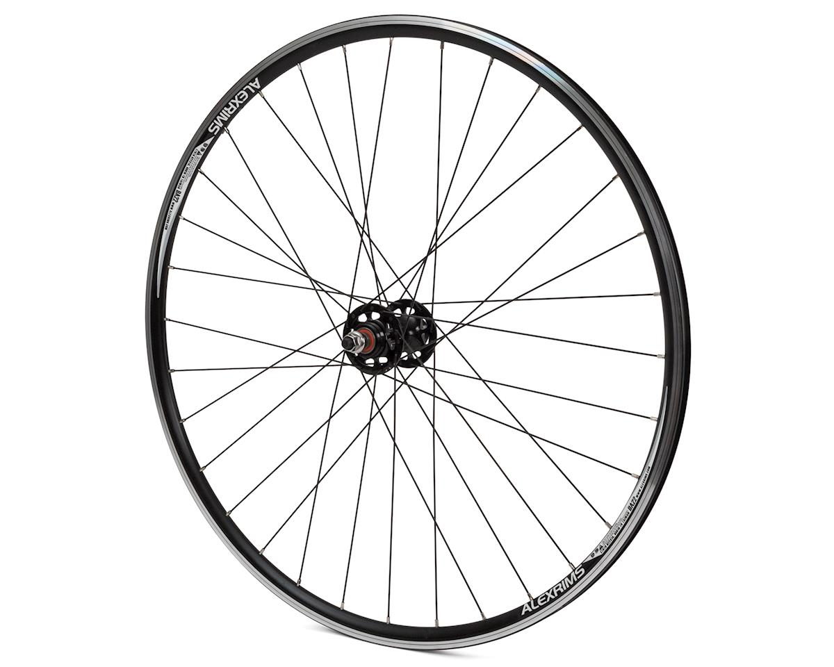 Quality Wheels Track 700C Rear Wheel (Fixed/Free) (Black)