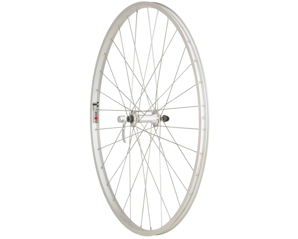 Quality Wheels Value Series Silver Pavement Front Wheel 700c Formula / Alex Y200