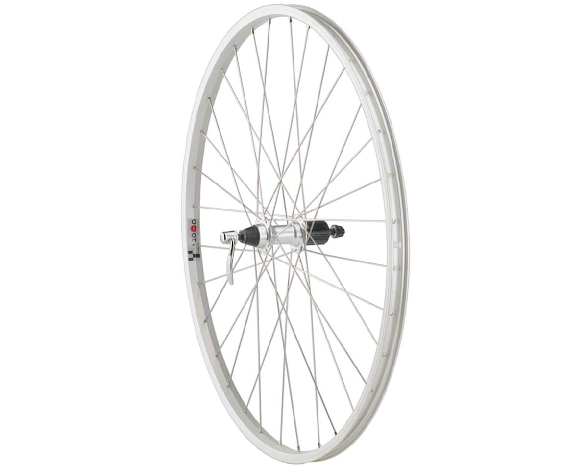 Quality Wheels Value Series Silver Mountain Rear Wheel 700c Formula 135mm Freehu