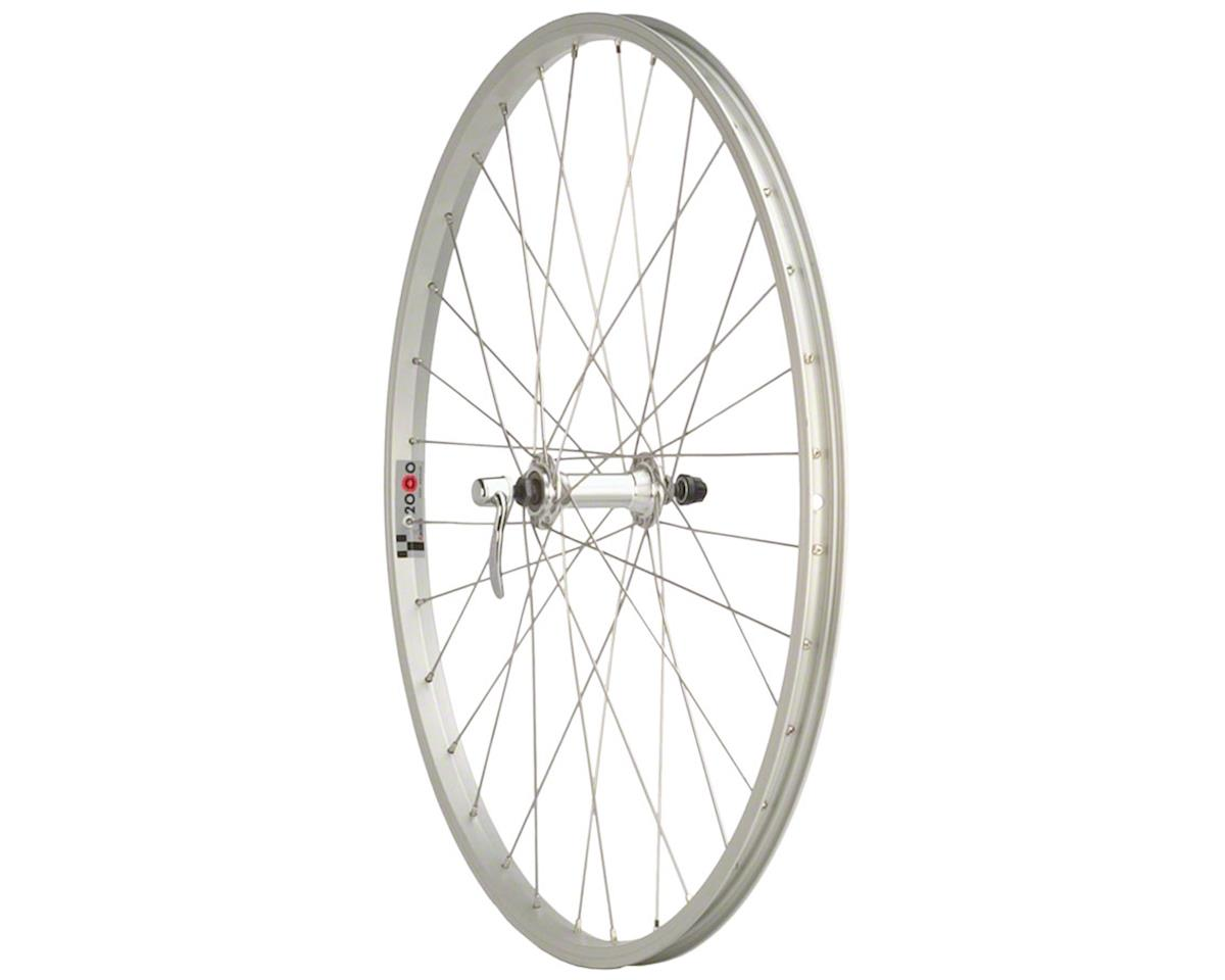 "Quality Wheels Value Series Silver Mountain Front Wheel 26"" Formula / Alex Y2000"