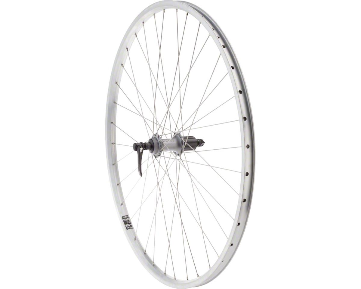 Quality Wheels Value HD Series Rear Wheel - 700, QR x 130mm, Rim Brake, HG 10, S