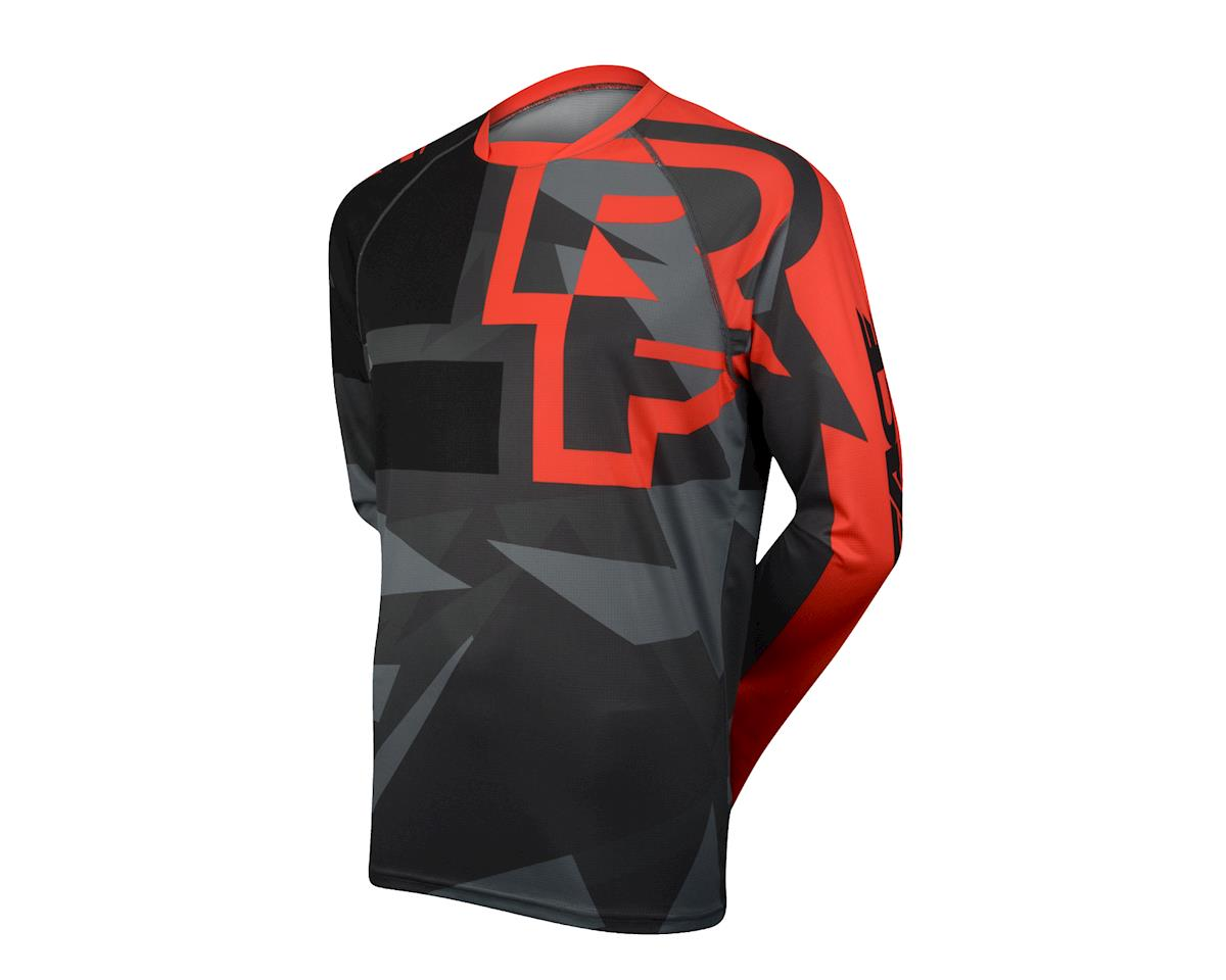 Race Face Ruxton Long Sleeve Jersey (Black/Orange)