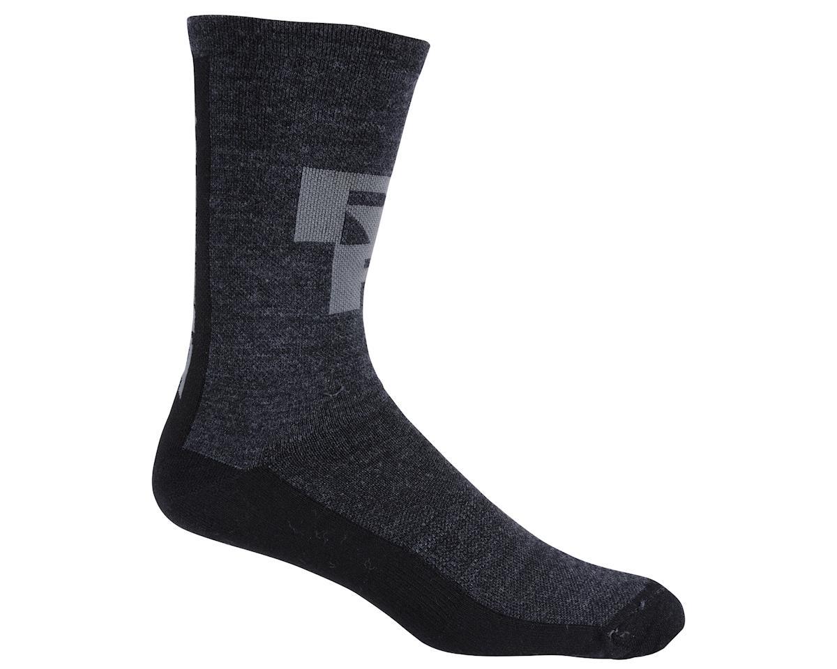 "Race Face Ambush 6"" Socks (Black/Charcoal) (One Size)"