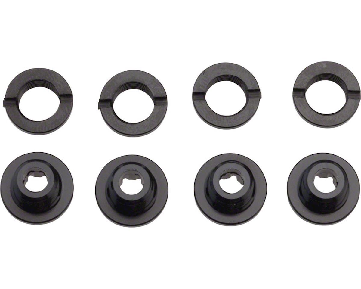 Race Face Chainring Bolt/Nut Pack Aluminum Torx Single/Double Ring Set