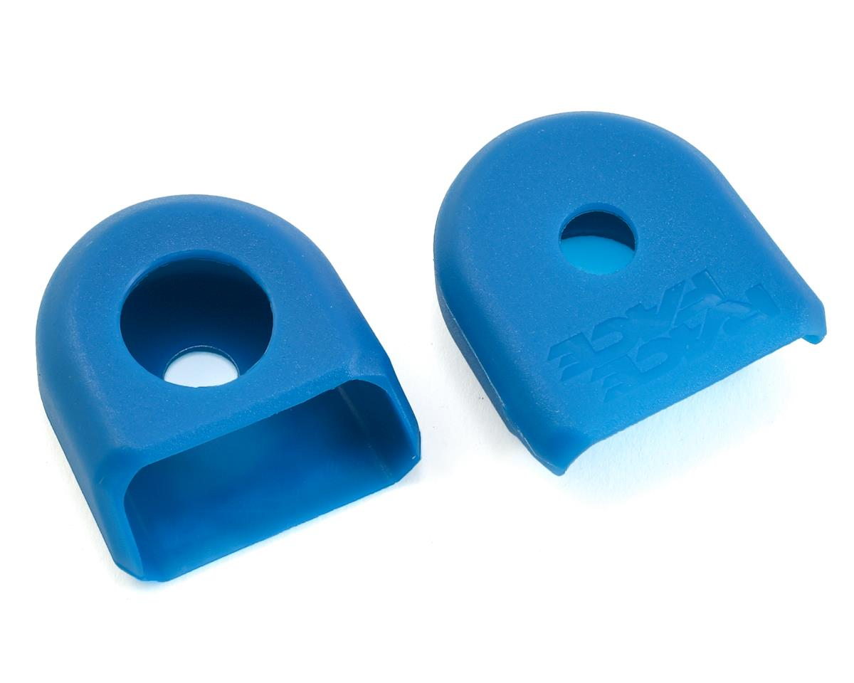 Race Face Crank Boots for Carbon Cranks (Blue) (2)