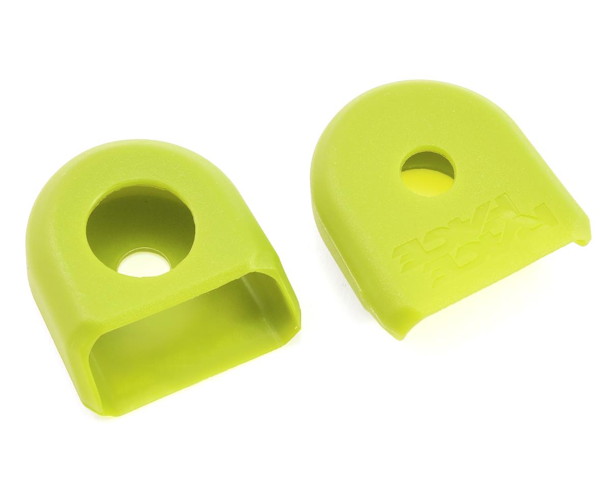 Race Face Crank Boots for Carbon Cranks (Yellow) (2)