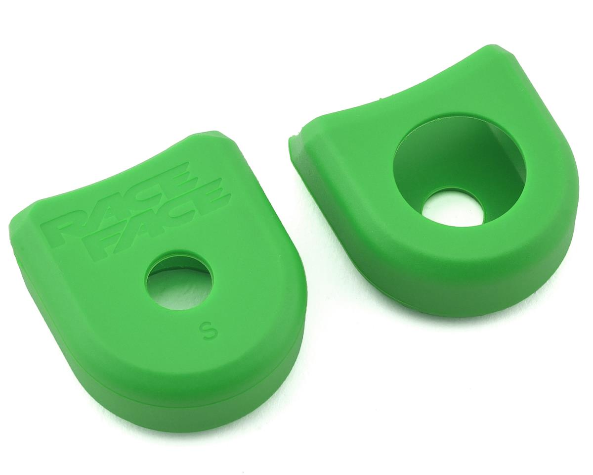 Race Face Crank Boots for Aluminum Cranks (Green) (2)