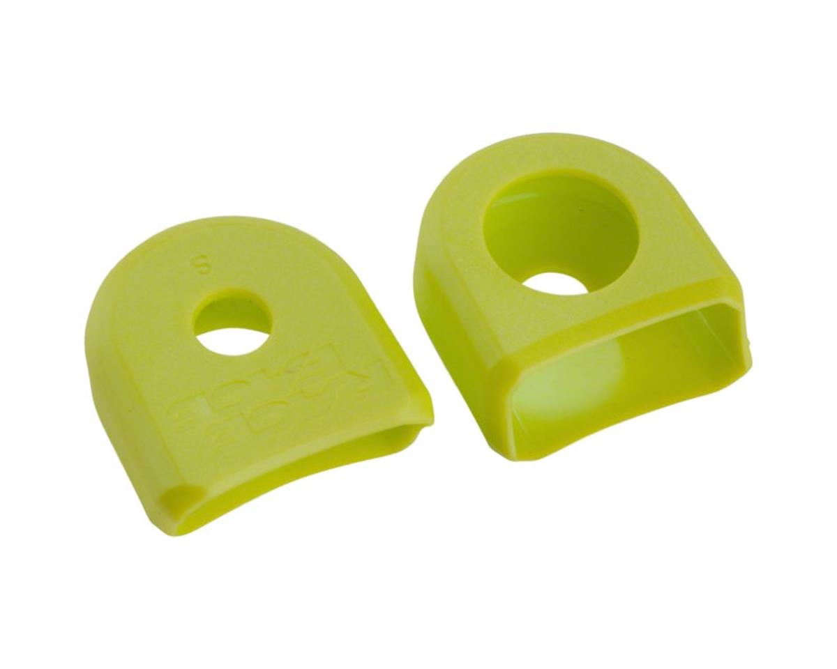 Race Face Crank Boots for Aluminum Cranks (Yellow) (2)