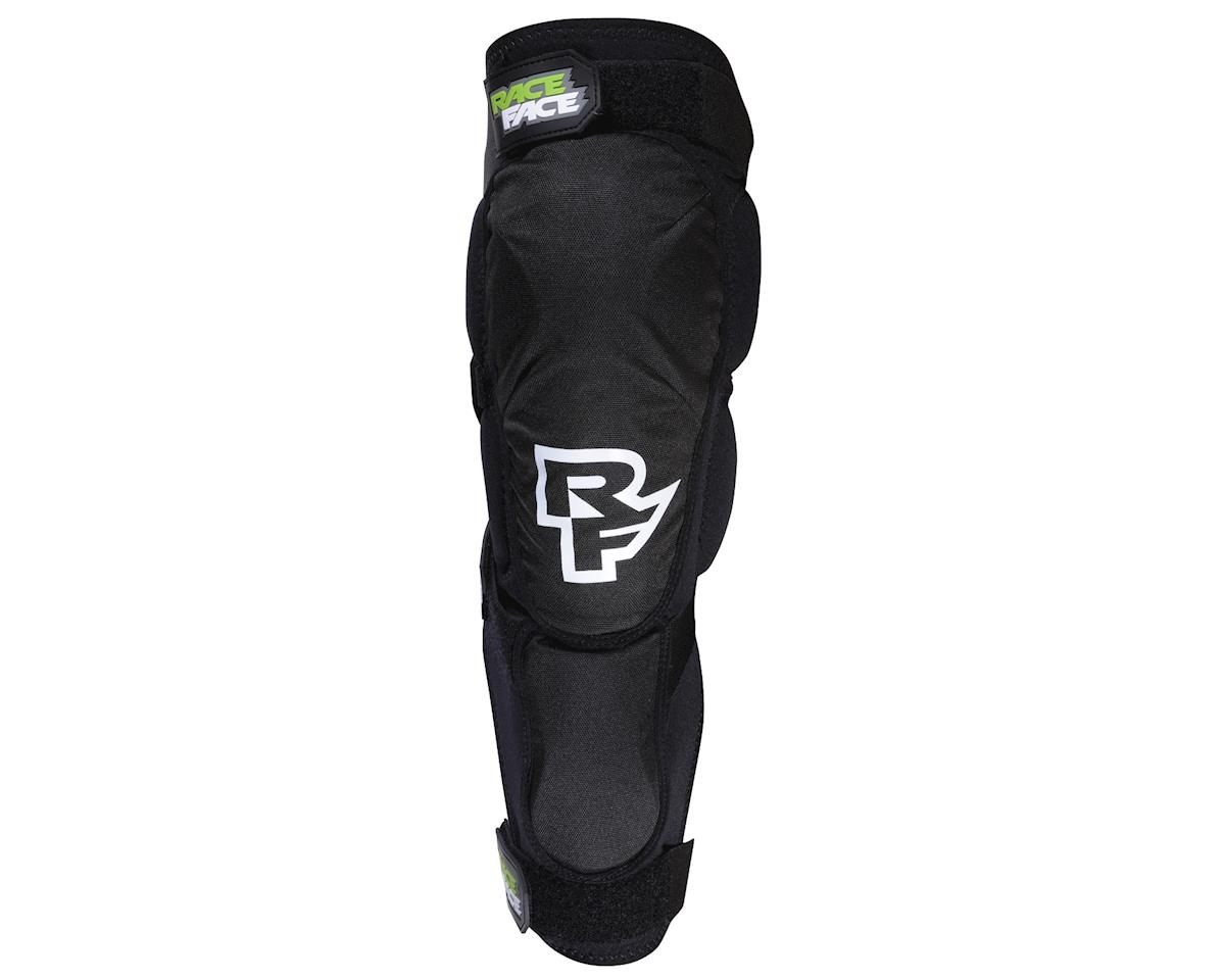 Race Face Flank Leg Guard (Black) (L)