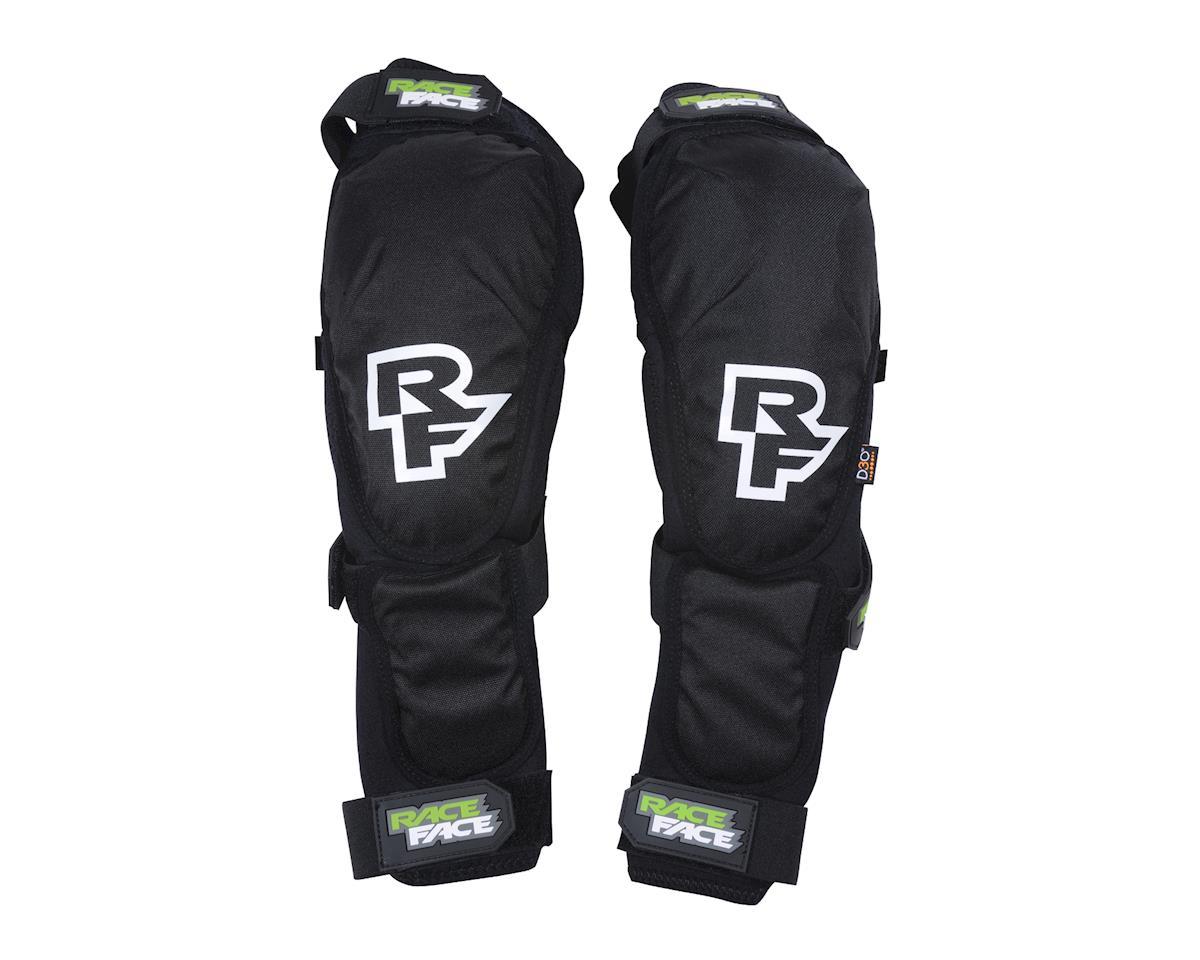 Race Face Flank Leg Guard (Black) (XL)