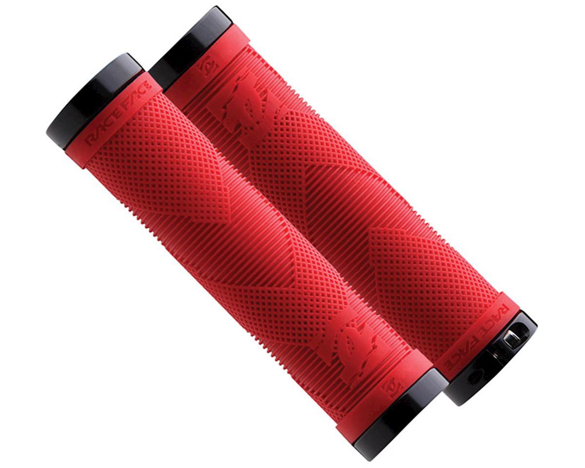 Sniper Grips w/Lock-On Clamps (130mm) (Red)