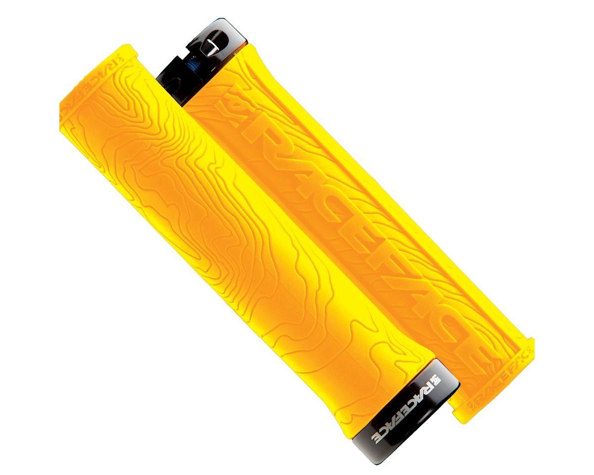 Race Face Half Nelson Lock-On Grip (Yellow)