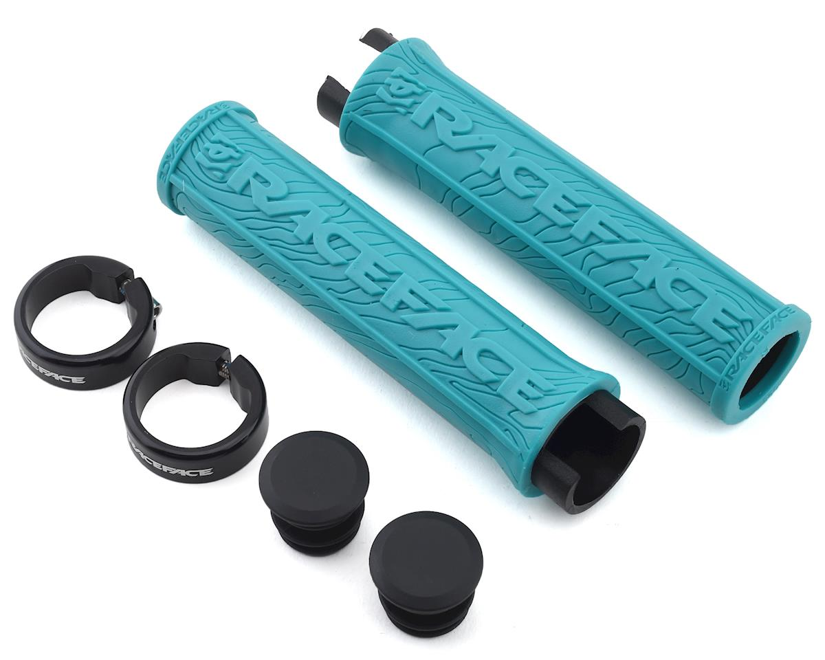 Image 1 for Race Face Half Nelson Lock-On Grip (Turquoise)