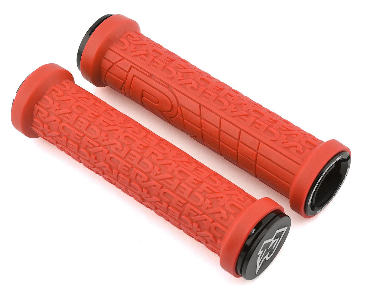 Race Face Grippler Lock-On Grip (Red) (30mm)