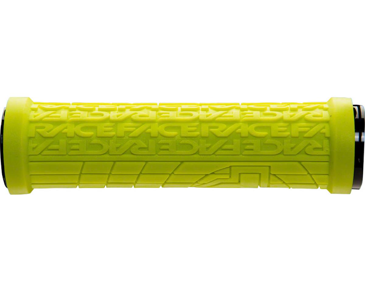 Race Face Grippler Lock-On Grip (Yellow) (30mm)