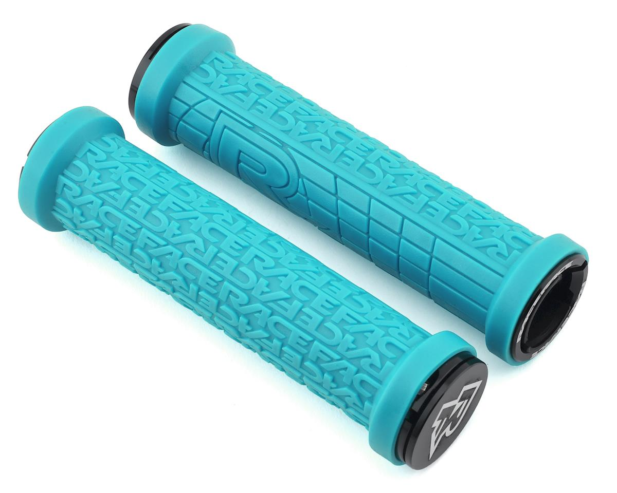 Race Face Grippler Lock-On Grip (Turquoise) (30mm)