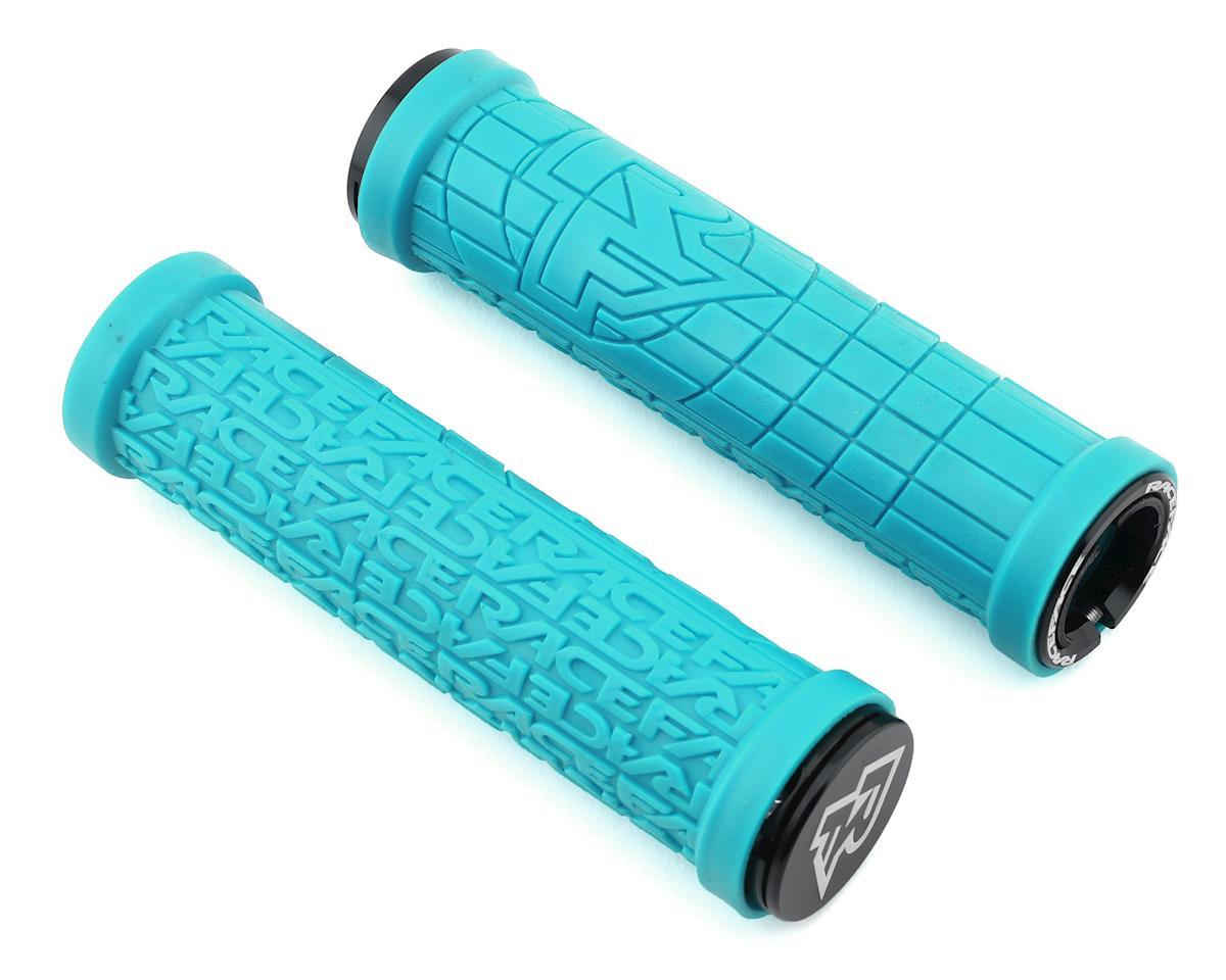 Race Face Grippler Lock-On Grip (Turquoise) (33mm)