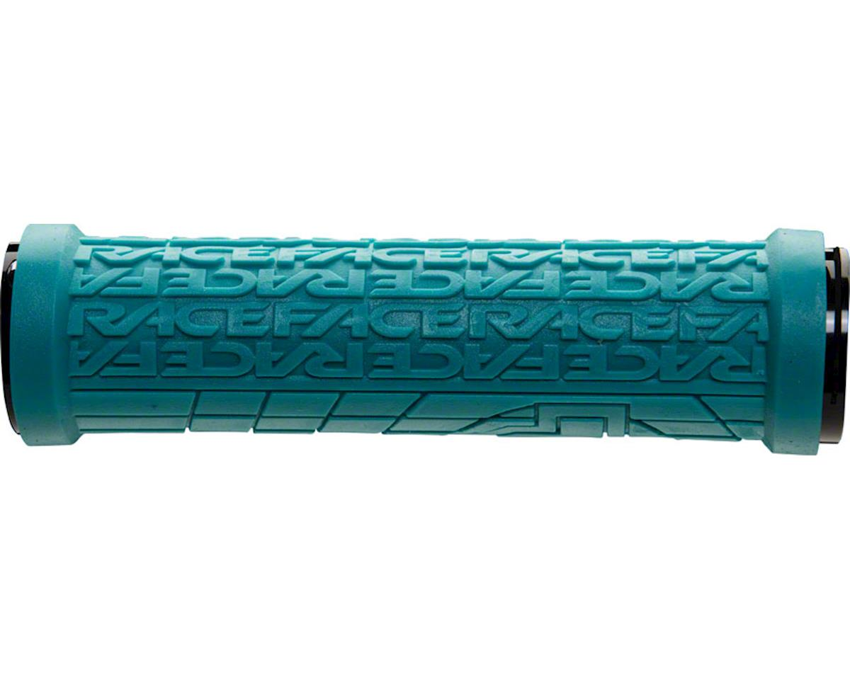 Race Face Grippler Lock-On Grip (Turquoise) (33mm)