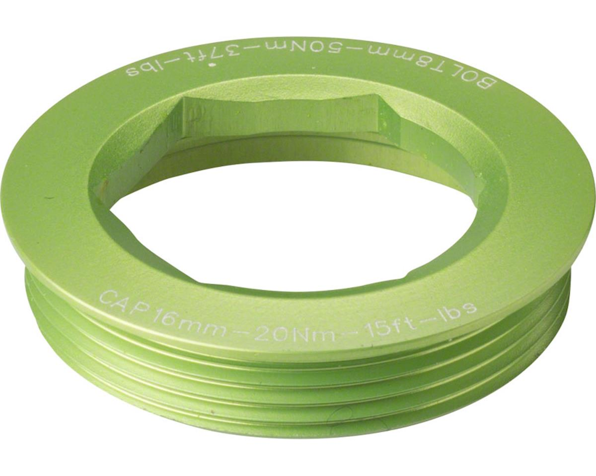 Race Face CINCH Puller Cap w/ Washer (Green) (18mm) (XC/AM)
