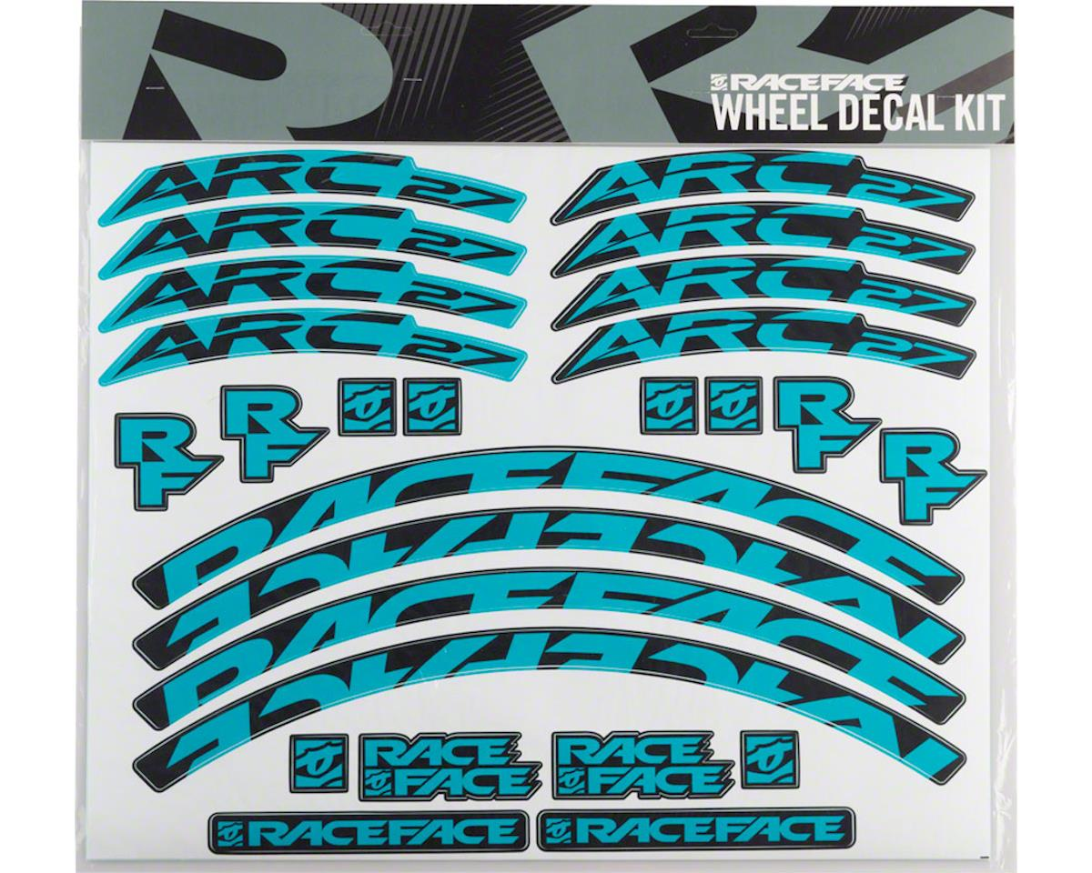 Race Face Decal Kit for Arc 27 Rims (Teal)