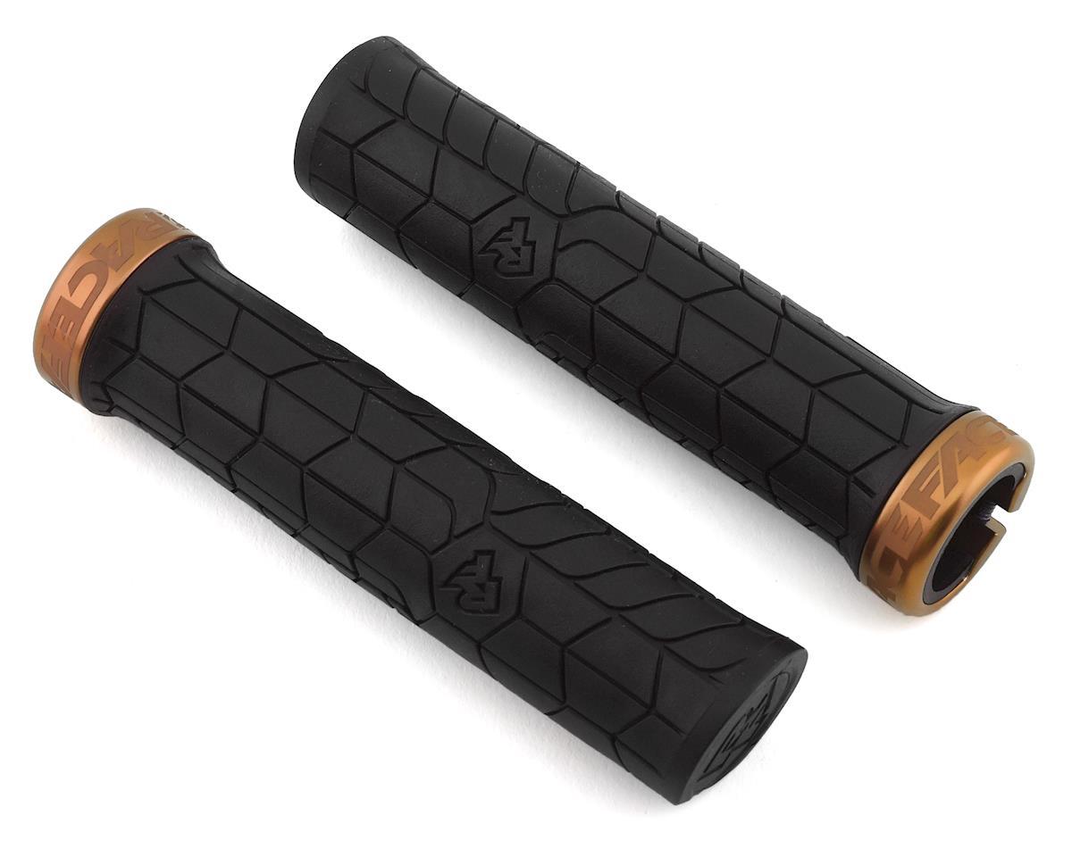 30mm Black//Kash Money Race Face Getta Grip Lock-On Grips,