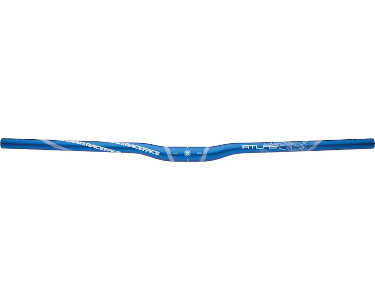 Race Face Atlas Riser Handlebar (Blue) (31.8mm) (13mm RIse) (785mm)