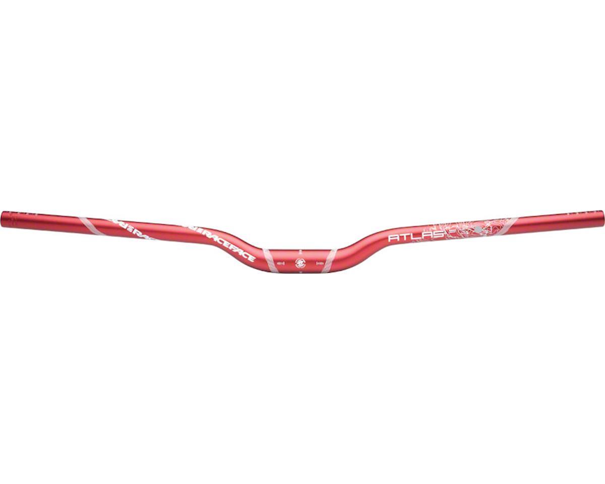 Race Face Atlas Riser Handlebar (Red) (31.8mm) (32mm Rise) (785mm)