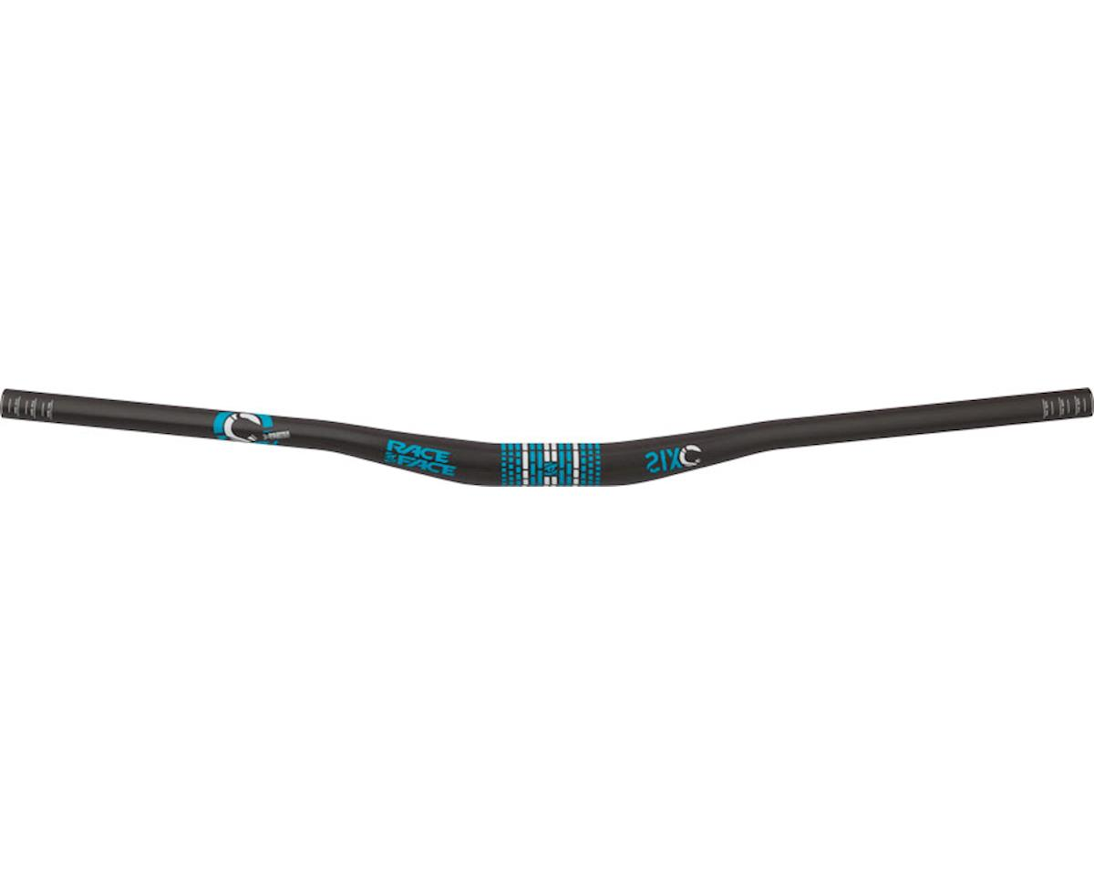 "SixC Riser Carbon Handlebar (Turquoise) (31.8 x 785mm) (3/4"" Rise)"