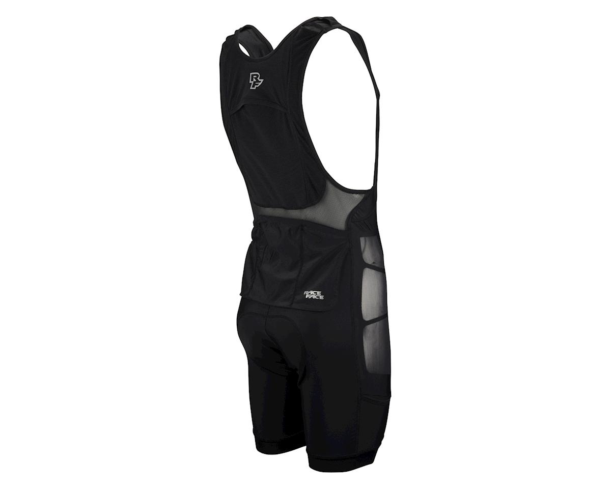 Race Face Stash Storage Bib Short: Black (XL)