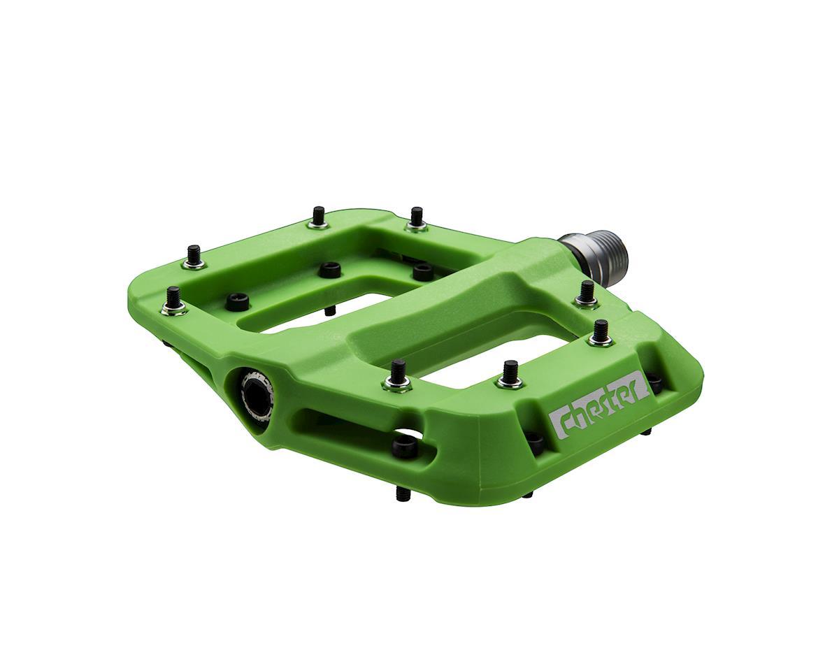Race Face Chester Composite Platform Pedal (Green)