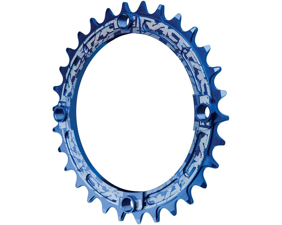 Race Face Narrow-Wide Single Chain Ring (104 BCD) (Blue) (30T)