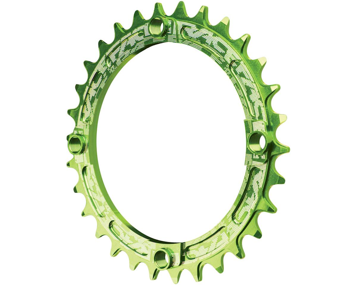 Race Face Narrow-Wide Chainring (Green) (104BCD)