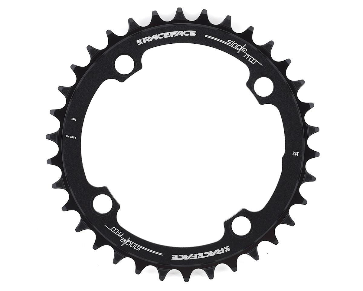 Race Face Narrow-Wide Chainring (Black) (104BCD) (34T)