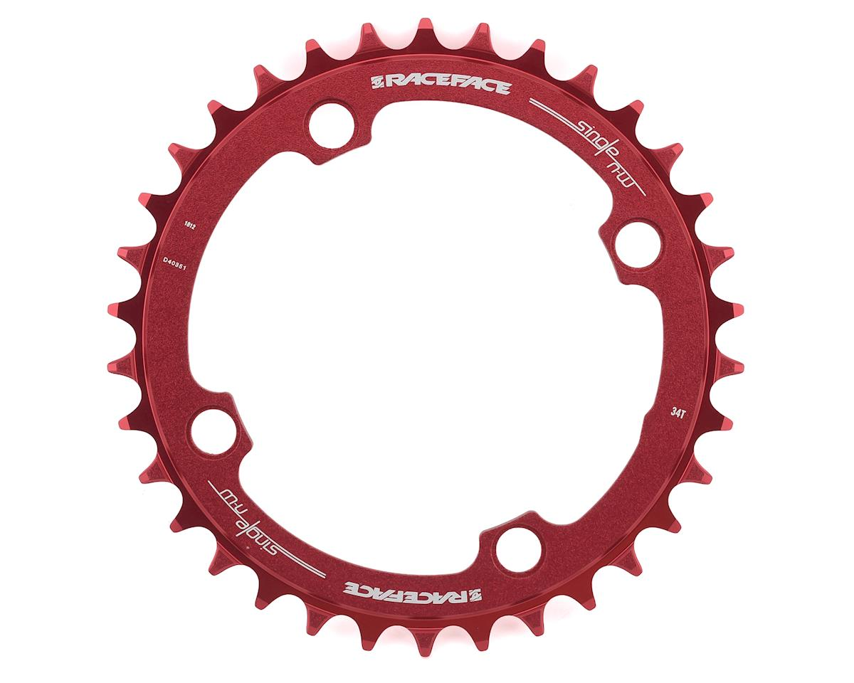 Race Face Narrow-Wide Chainring (Red) (104BCD) (34T)