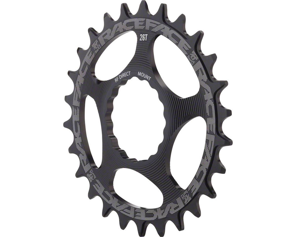 Race Face RaceFace Narrow-Wide Chainring: CINCH Direct Mount, 26T, Black