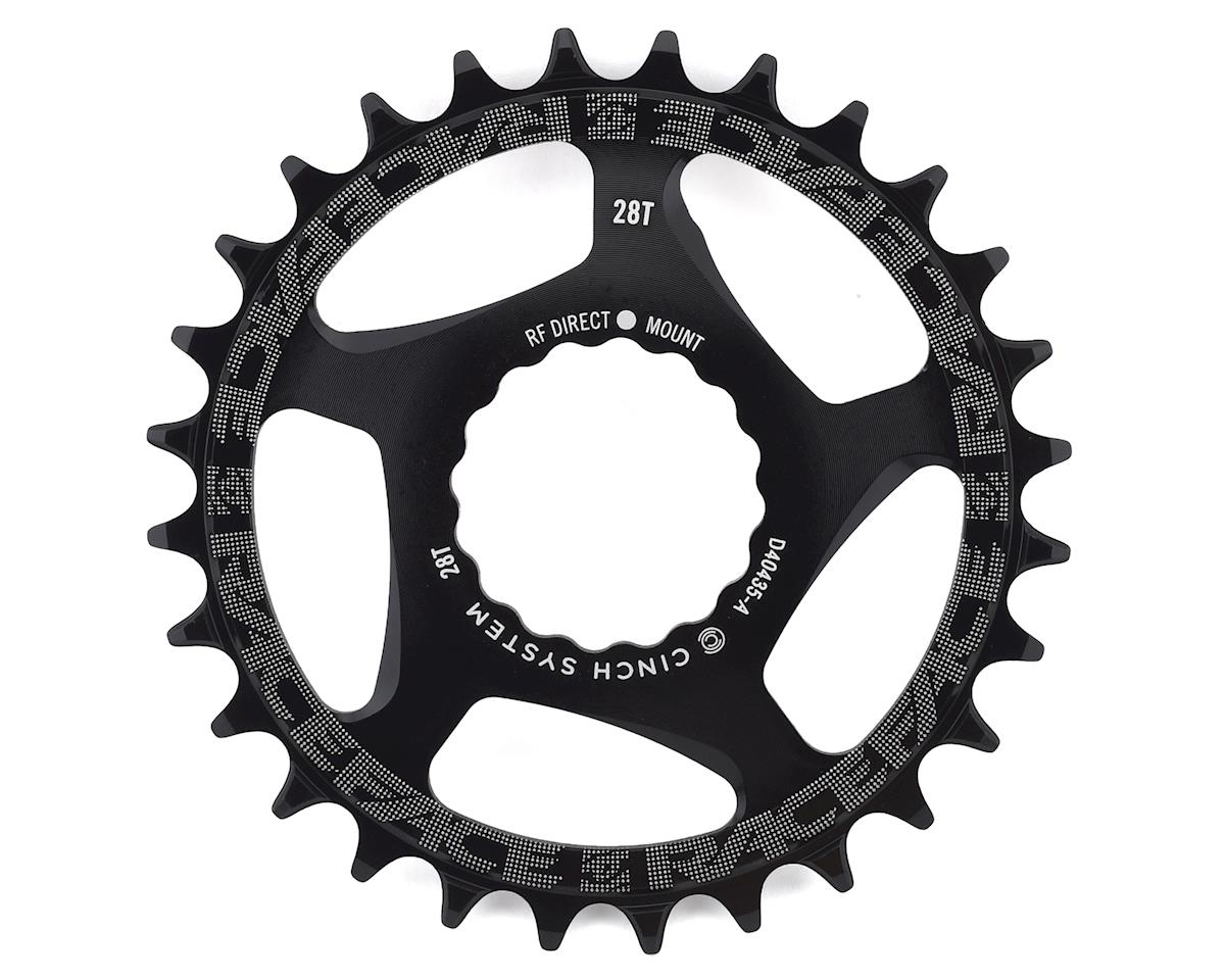 Race Face Narrow-Wide Chainring (Black) (CINCH Direct Mount) (28T)