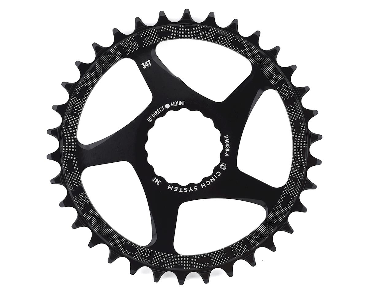 Race Face Narrow-Wide Chainring (Black) (CINCH Direct Mount) (34T)