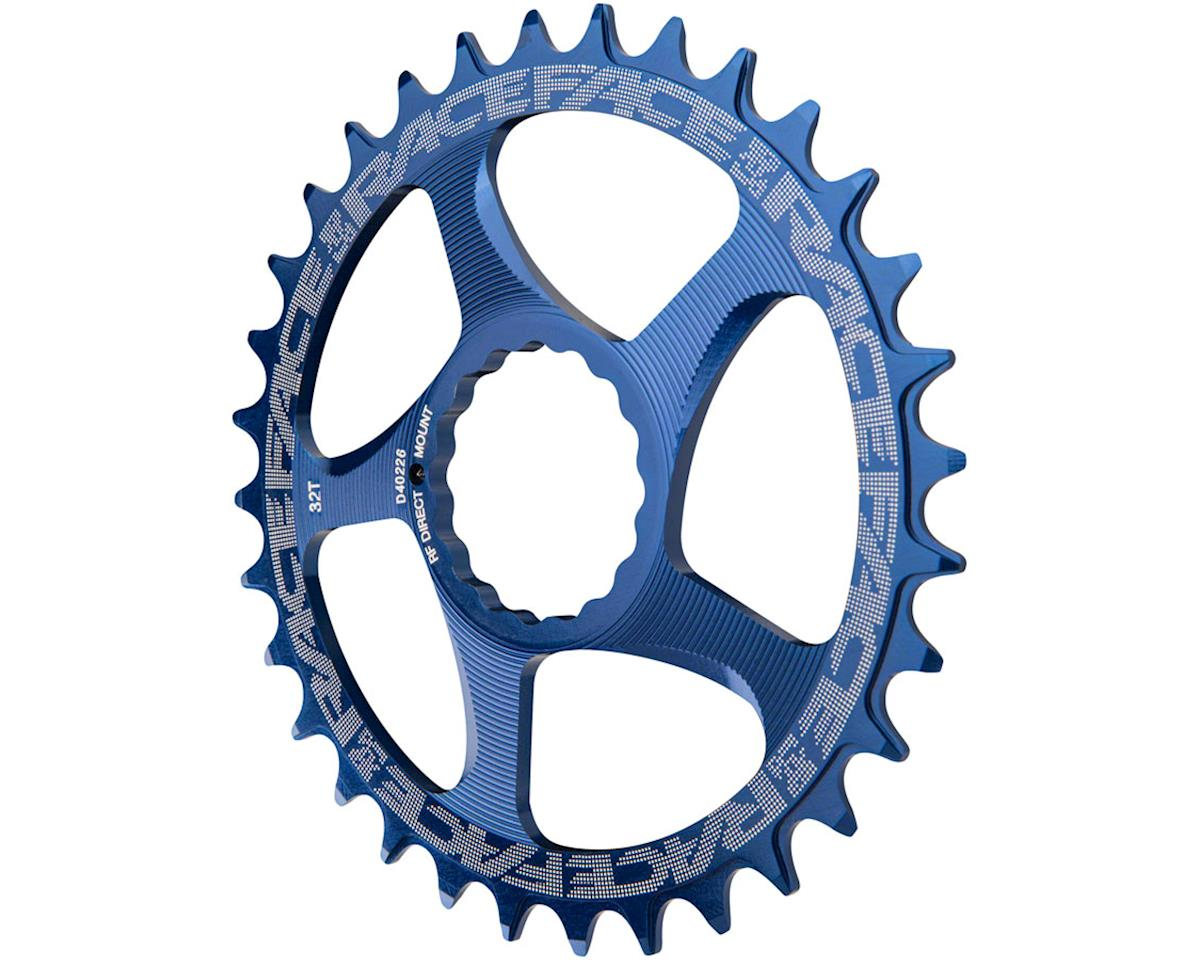 Race Face Narrow-Wide Chainring (Blue) (CINCH Direct Mount) (34T)