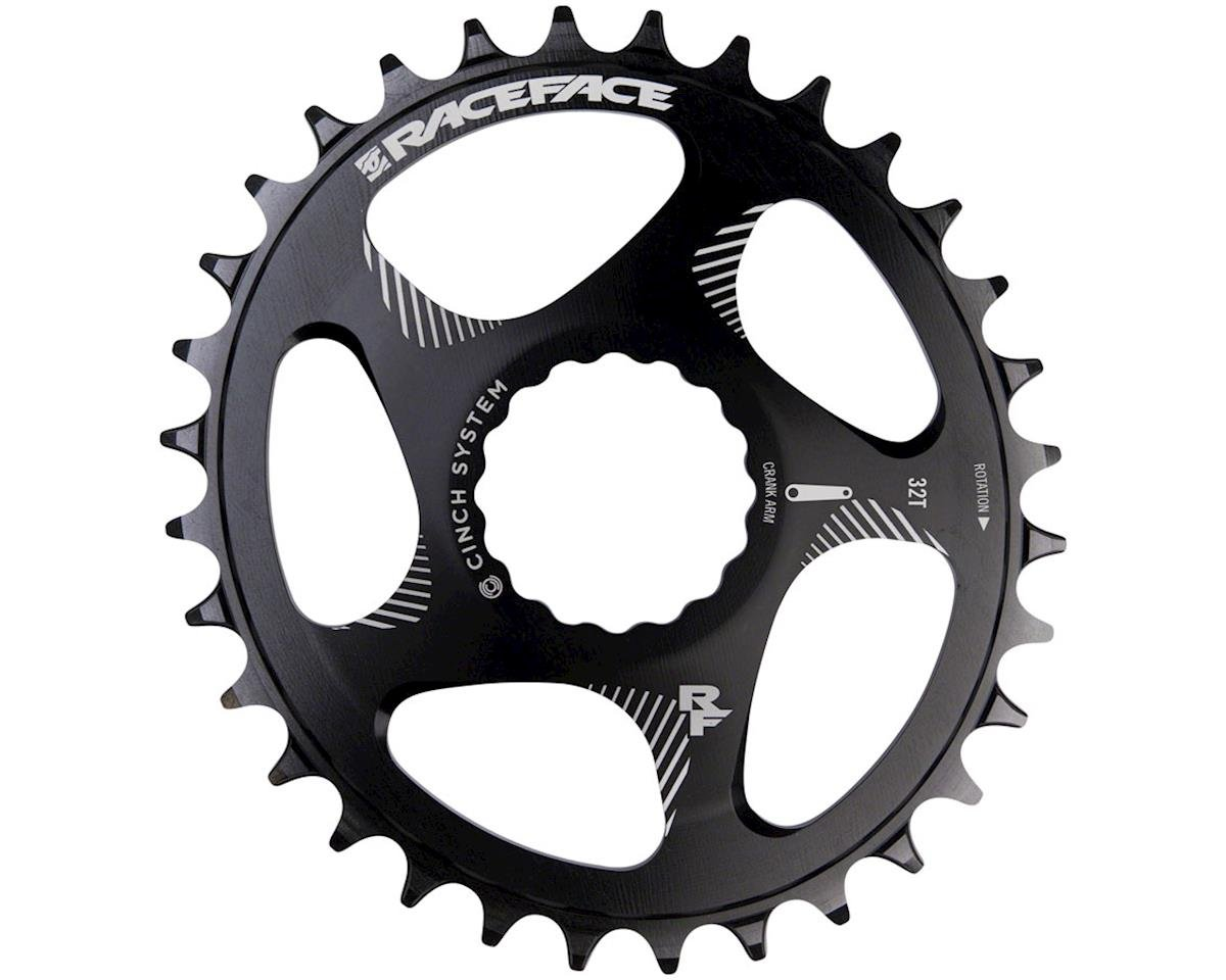 Race Face Narrow Wide Oval Chainring (Black) (Direct Mount CINCH)