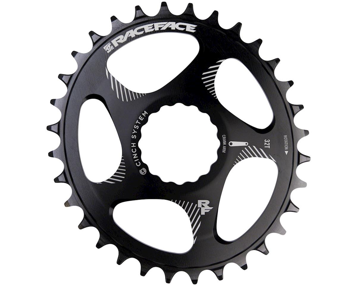 Race Face Narrow Wide Oval Chainring (Black) (Direct Mount CINCH) (32T)