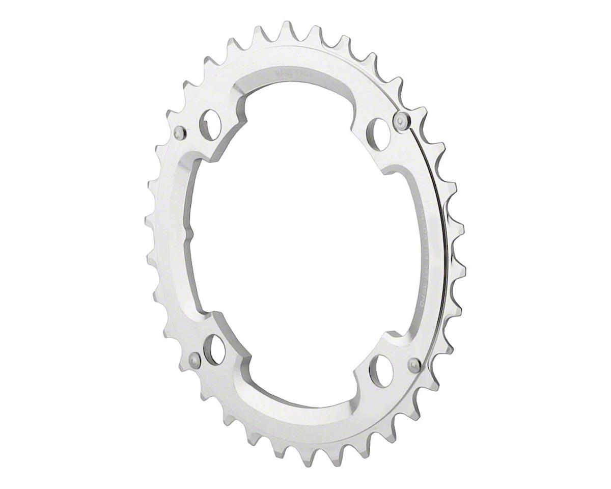 RaceFace 9-Speed Race Chainring, 36t x 104mm 4-Arm Silver