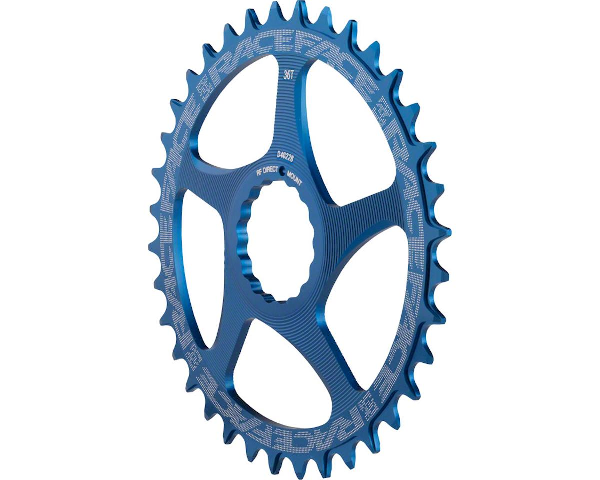 RaceFace Narrow-Wide Chainring: Direct Mount Cinch, 34t Blue