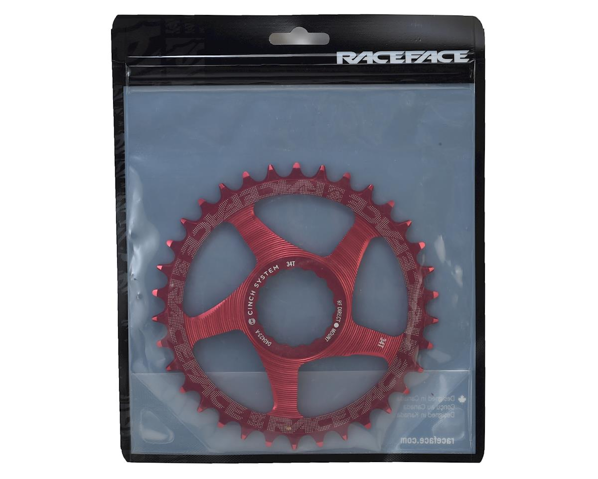 Race Face Direct Mount Narrow-Wide Chain Ring (Cinch) (Red) (34T)