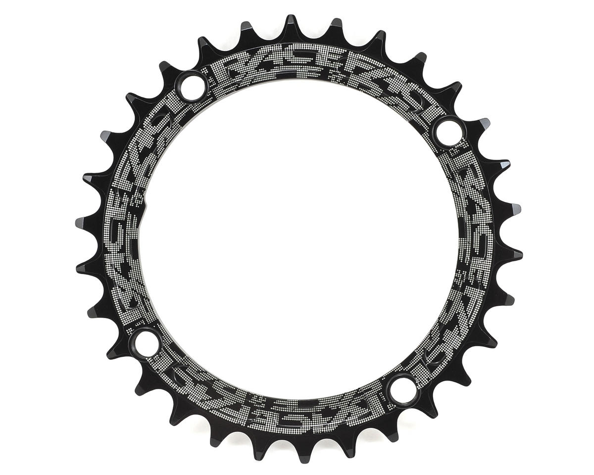 Race Face Narrow-Wide Single Chain Ring (104 BCD) (Black) (30T)