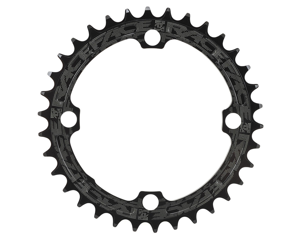 Race Face Narrow-Wide Single Chain Ring (104 BCD) (Black) (34T)