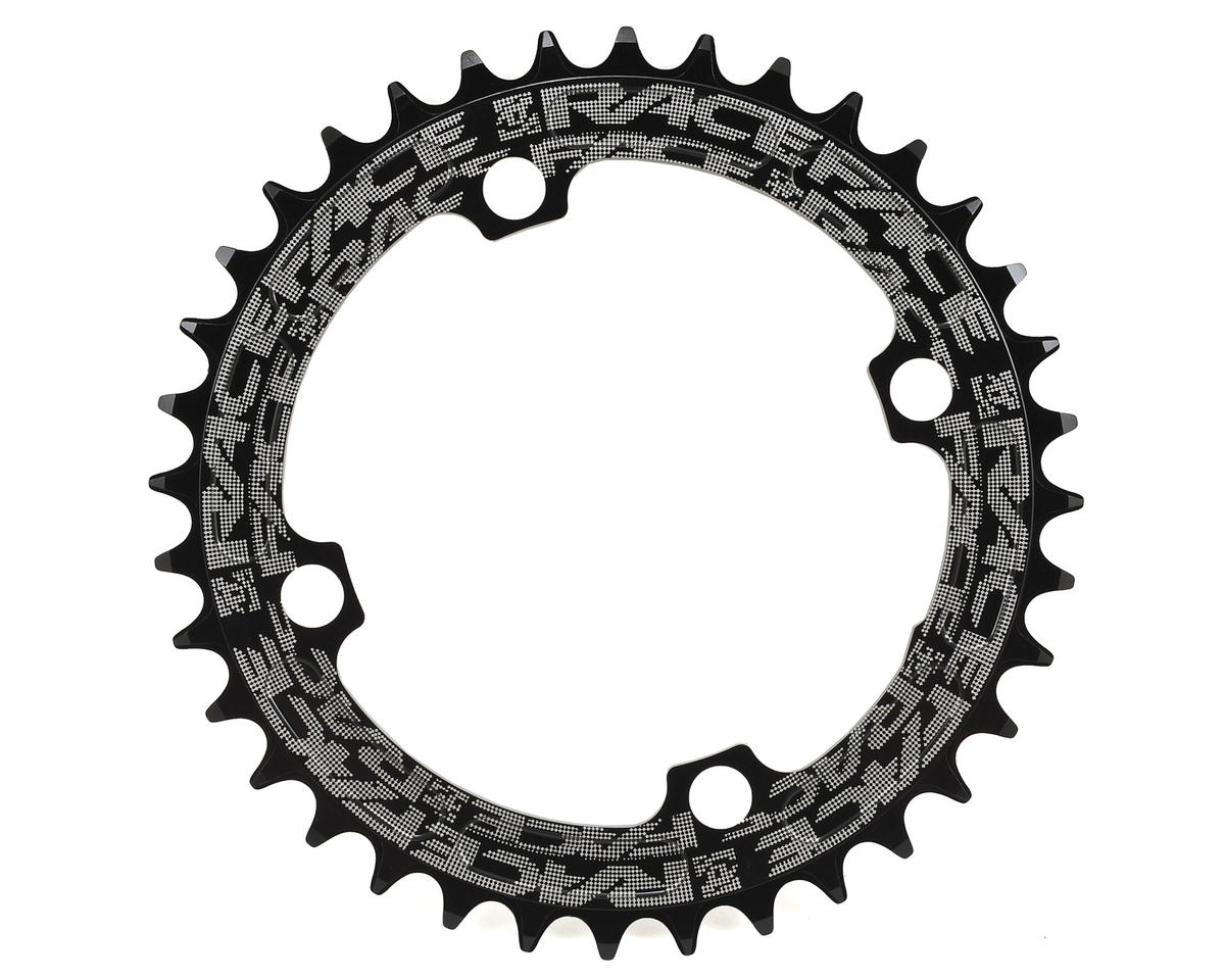 Race Face Narrow-Wide Single Chain Ring (104 BCD) (Black) (36T)