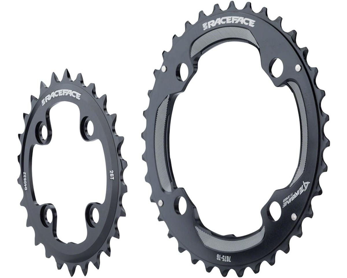 Race Face Turbine 11 Speed Chainring Set (Black) (64mm x 104mm BCD)