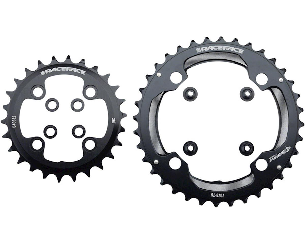 Race Face Turbine 11 Speed Chainring Set (Black) (64mm x 104mm BCD) (26/36T)