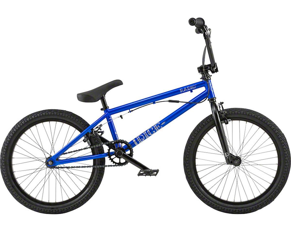 "Radio Dice FS 20"" 2018 Complete BMX Bike 20"" Top Tube Metallic Blue"