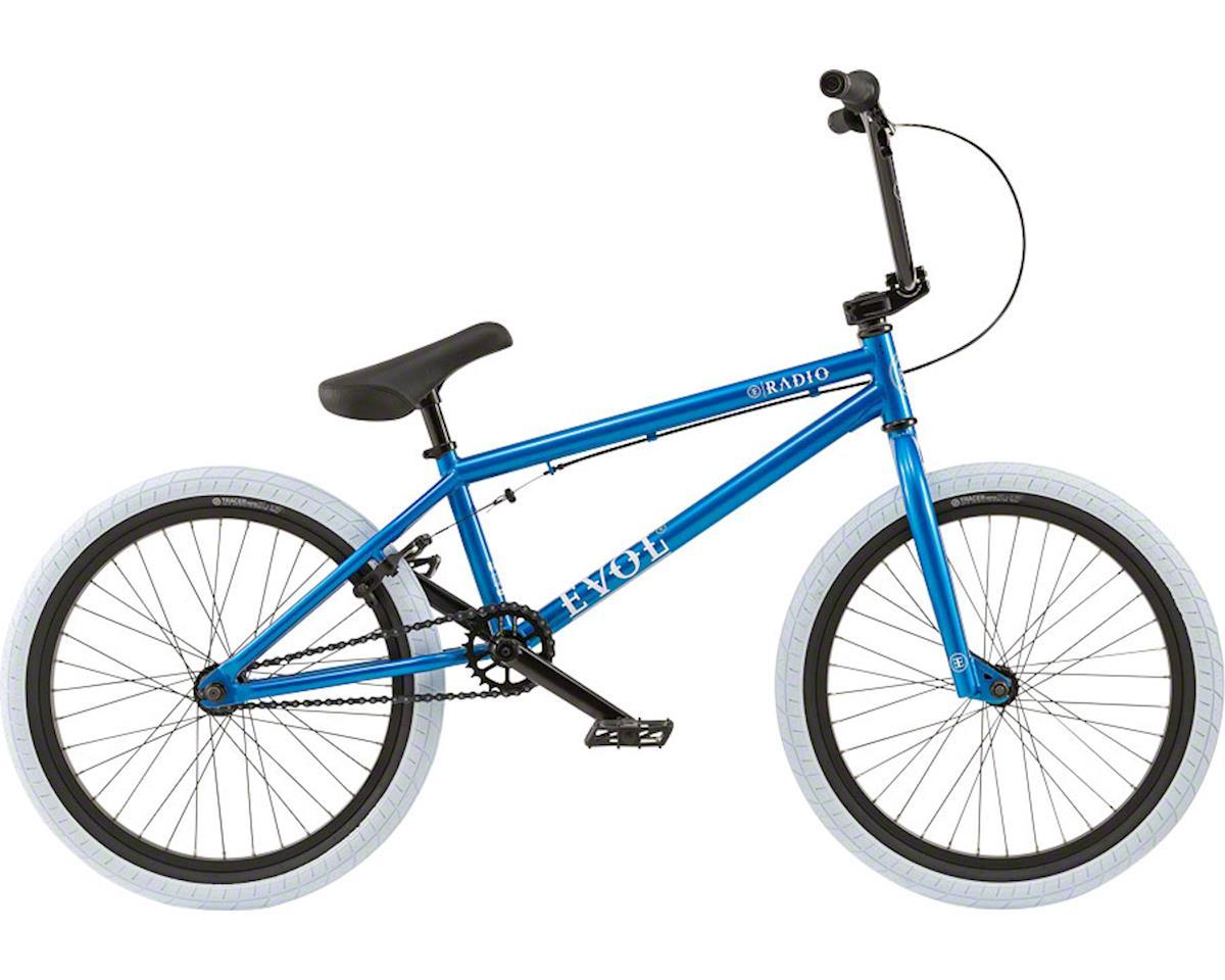 "Radio Evol 20"" 2018 Complete BMX Bike 20.3"" Top Tube Metallic Blue"